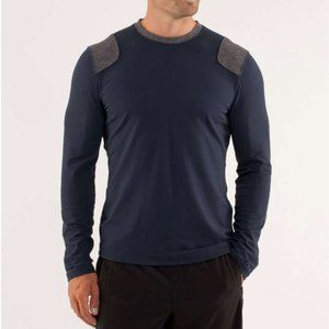 Lululemon | Sprint Long Sleeve Black Iris Blue